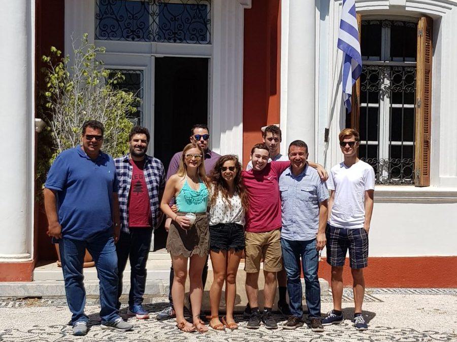 Το ΤΕΕ Δωδεκανήσου φιλοξένησε το workshop 16 φοιτητών από το Emmanuel College του πανεπιστήμιου της Βοστώνης