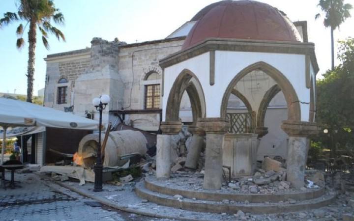 Γ. Γλυνός: Οι ζημιές στην Κω περιορίζονται σε παλαιά κτίρια λιθοδομών