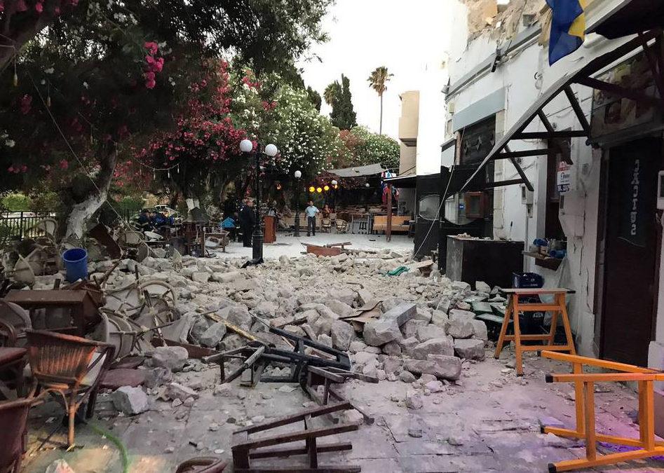 Συνεχίζονται οι δευτεροβάθμιοι έλεγχοι στα κτήρια της Κω- 120 κτίρια κρίθηκαν προσωρινά ακατάλληλα