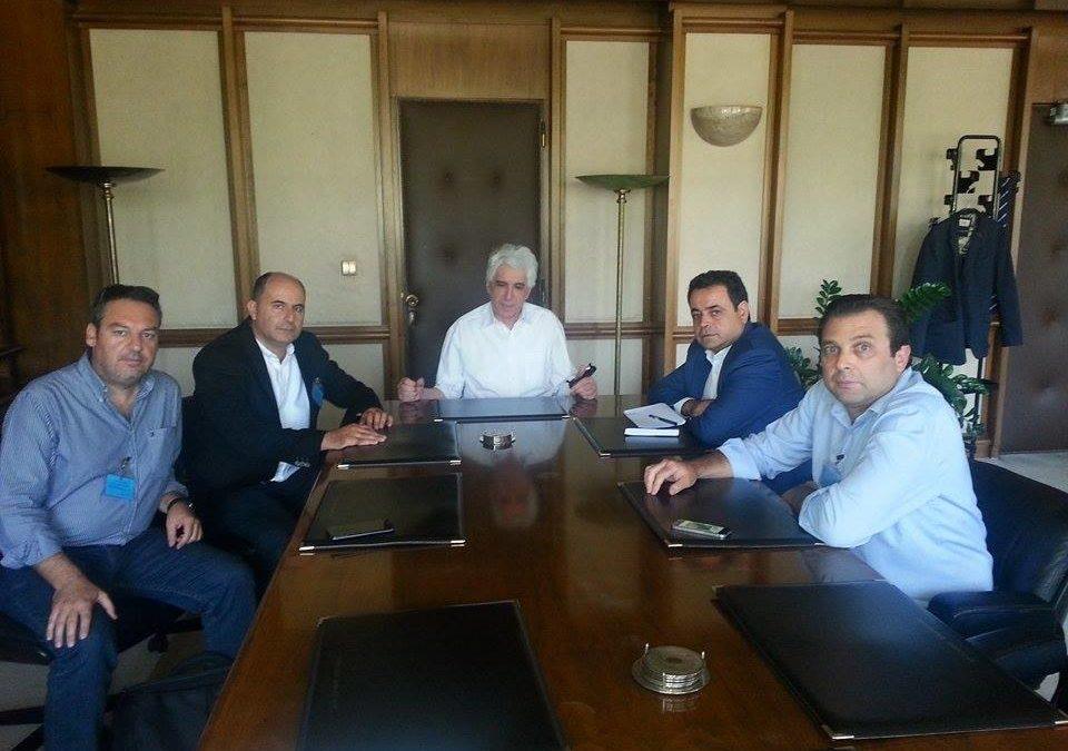 Συνάντηση με Υπουργό Δικαιοσύνης για τα προβλήματα λειτουργίας των Κτηματολογίων Ρόδου και Κω