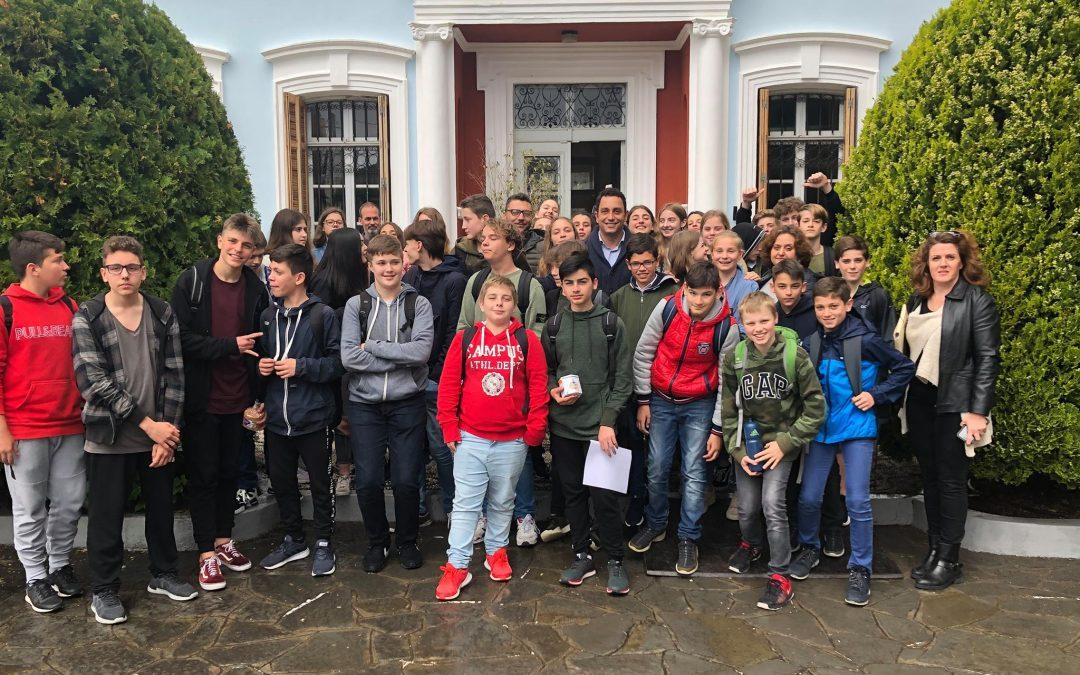 Το ΤΕΕ Δωδεκανήσου φιλοξένησε το workshop των μαθητών του 4ου Γυμνασίου Ρόδου και του Γυμνασίου της πόλης Breda της Ολλανδίας