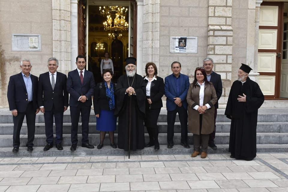 Ολοκληρώθηκε με επιτυχία η εκδήλωση-εσπερίδα με θέμα: «Η Αποκατάσταση του Ιερού Κουβουκλίου του Παναγίου Τάφου» στην Κάλυμνο