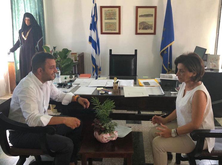 Επίσκεψη του Προέδρου ΤΕΕ Δωδ/σου κ. Αντ Γιαννικουρή στην Κάρπαθο