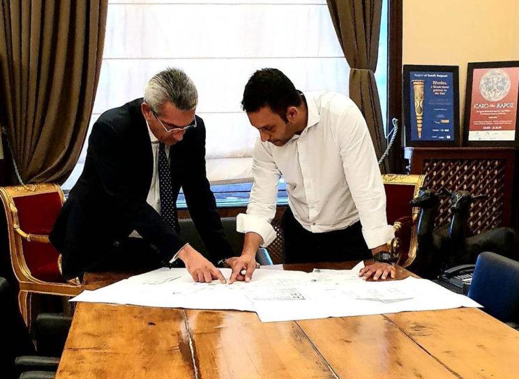 Ιδιαιτέρως παραγωγική συνάντηση με τον Περιφερειάρχη κ. Γ. Χατζημάρκο