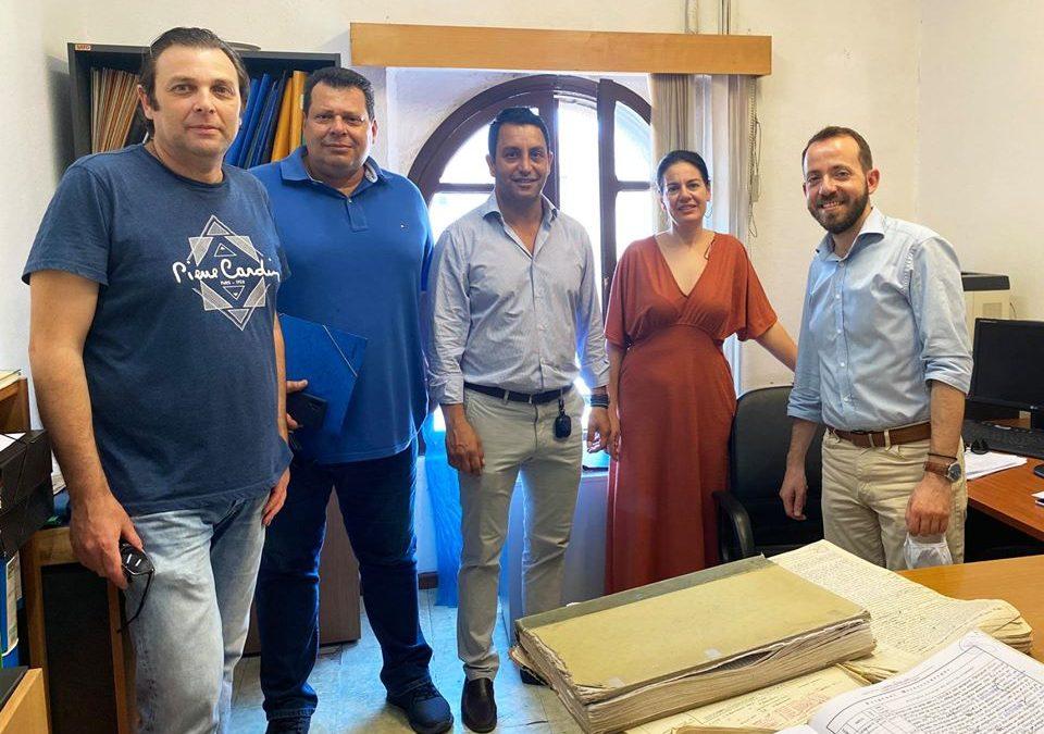 Την μελέτη για την επισκευή-αποκατάσταση στεγάνωσης δώματος του Κτηματολογίου Ρόδου, παρέδωσαν οι εκπρόσωποι του ΤΕΕ Δωδεκανήσου
