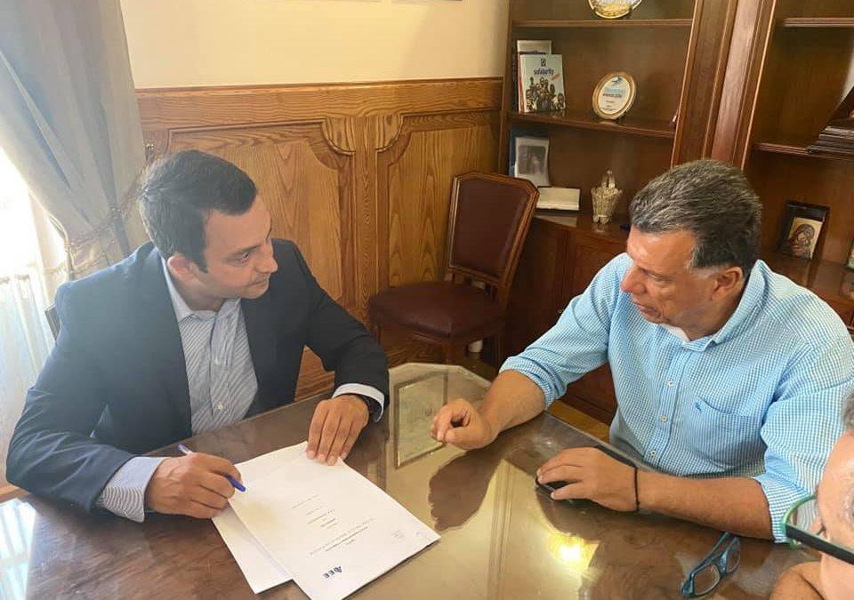 Συνάντηση των εκπροσώπων του ΤΕΕ Δωδεκανήσου με τον Δήμαρχο Κω κ. Θεοδόση Νικηταρά