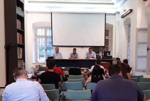 Συνάντηση εργασίας με τον Αντιδήμαρχο Τεχνικών Υπηρεσιών του Δήμου Ρόδου, στο ΤΕΕ Δωδεκανήσου