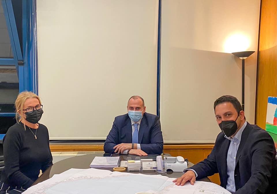 Σύσκεψη του Προέδρου ΤΕΕ Δωδεκανήσου με τον Γ.Γ. Υποδομών για την υλοποίηση τεχνικού έργου στο έργο Καστελλόριζο