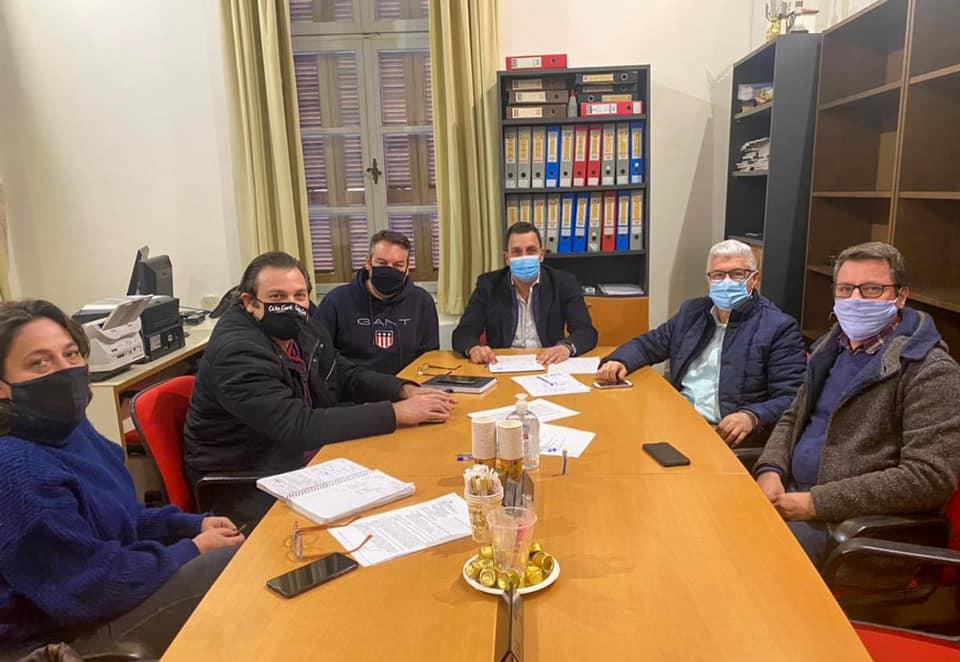 Την Πέμπτη 28 Ιανουάριου 2021 πραγματοποιήθηκε σύσκεψη στο ΤΕΕ Δωδεκάνησου για το θέμα των Δασικών Χαρτών